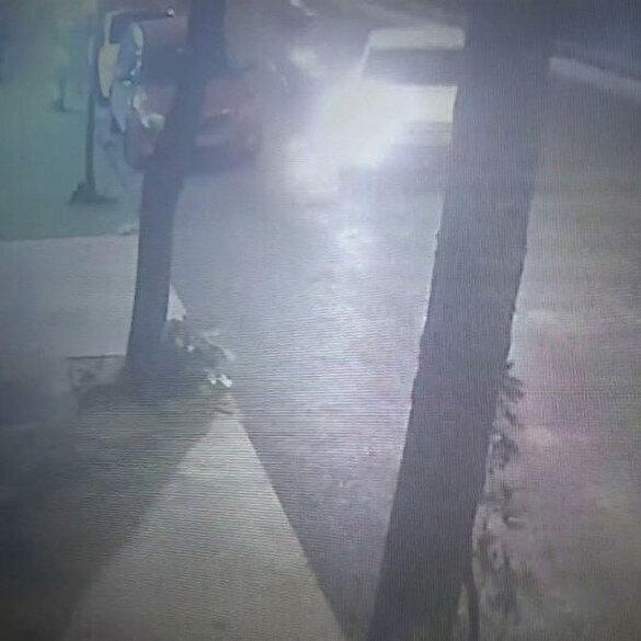Arnavutköy'de motosiklet ile otomobil çarpıştı