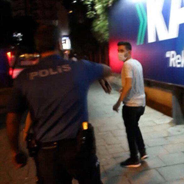 Adana'da maske takmadığı için ceza yazılmak istenen kişi polisten kaçtı