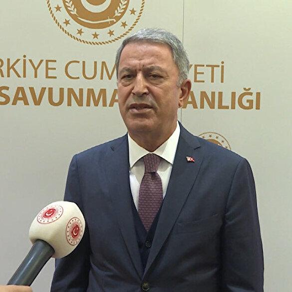 Bakan Akar'dan Azerbaycan'a mesaj: Kardeşlerimizin yanındayız