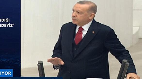 Cumhurbaşkanı Erdoğan 'Minsk Üçlüsü'ne Karabağ'da çözümün yolunu gösterdi
