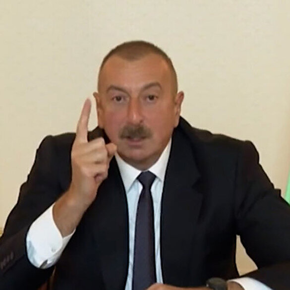 İlham Aliyev'den tarihi rest: Ermenistan diz çökmüştür, topraklarımızı geri alacağız