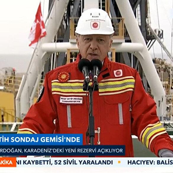 Cumhurbaşkanı Erdoğan yeni doğalgaz rezervini açıkladı