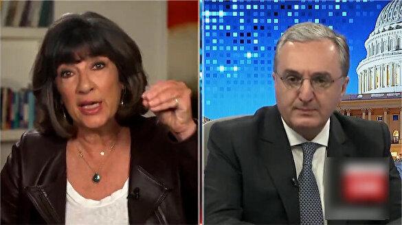 Ermenistan Dışişleri Bakanı canlı yayında rezil oldu: Sizin politikanız bu mudur?