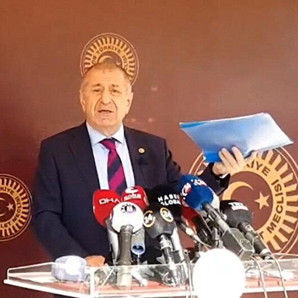 Ümit Özdağ: İYİ Parti ve HDP'nin ortak anayasasında 9. madde 'Örtülü ilan edilir' diyor niye?