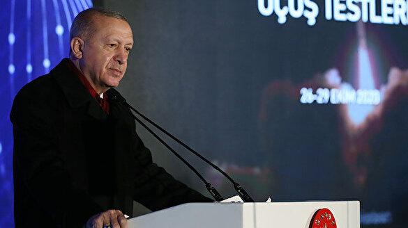 Cumhurbaşkanı Erdoğan: Elektronik harpte bize güç kazandıracak 'Karakulak' dinleme sistemi kullanıma hazır