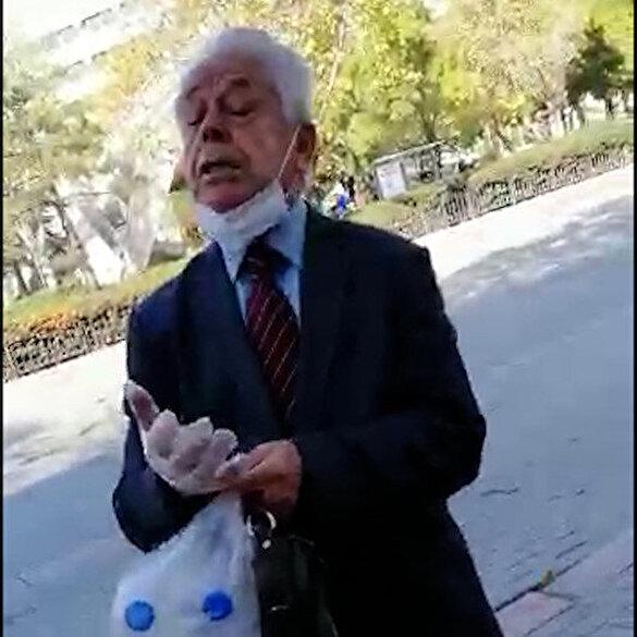 Konya'da çarşaflı bir kadının hakarete uğradığı anlar kamerada: Burası Arabistan mı?