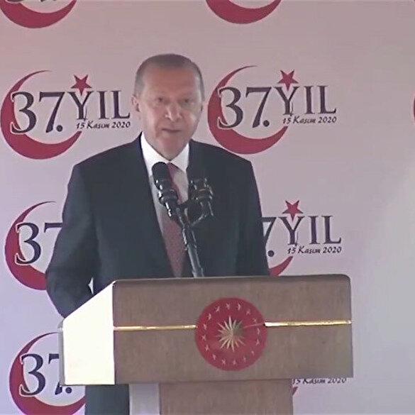 Cumhurbaşkanı Erdoğan'dan KKTC'de önemli açıklamalar,