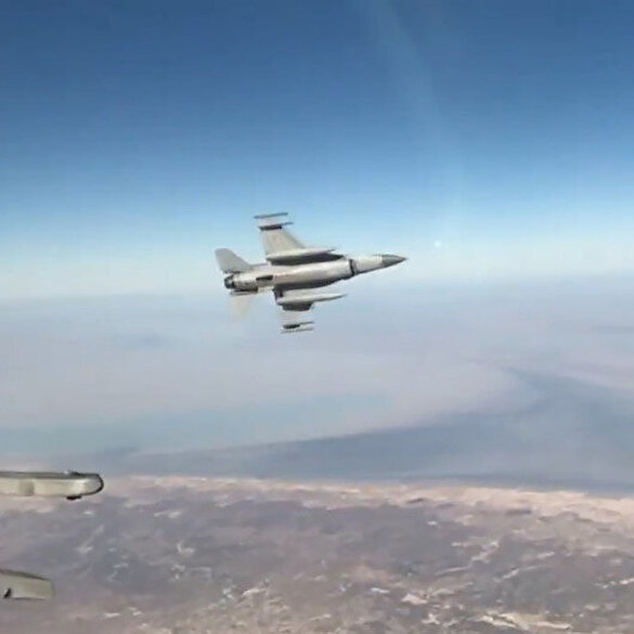 MSB duyurdu: F-16 uçaklarının katılımıyla NEXUS ACE görevi icra edildi