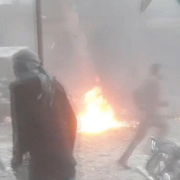 Cerablus'da patlama meydana geldi: 4 sivil yaralandı