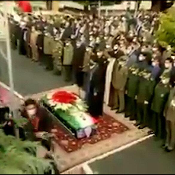Suikast sonucu öldürülen İranlı Nükleer Bilimci Fahrizade'nin cenaze törenine Hamaney katılmadı