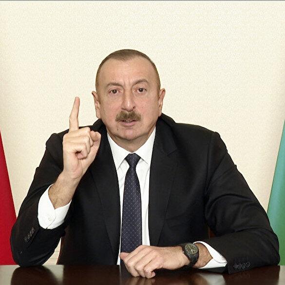 Azerbaycan Cumhurbaşkanı Aliyev'den Fransaya: Çok istiyorlarsa versinler Marsilya'yı Ermeniler orada kendilerine devlet kursun