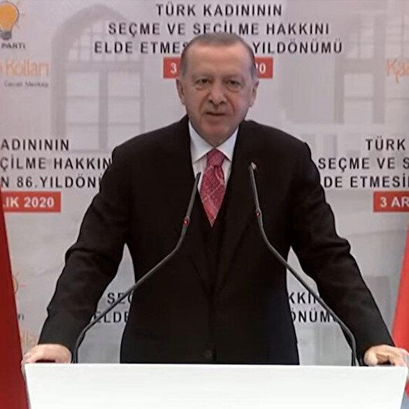 Cumhurbaşkanı Erdoğan: Biz terörle uğraşırken bunların milletvekilleri terörist cenazelerine omuz verdi