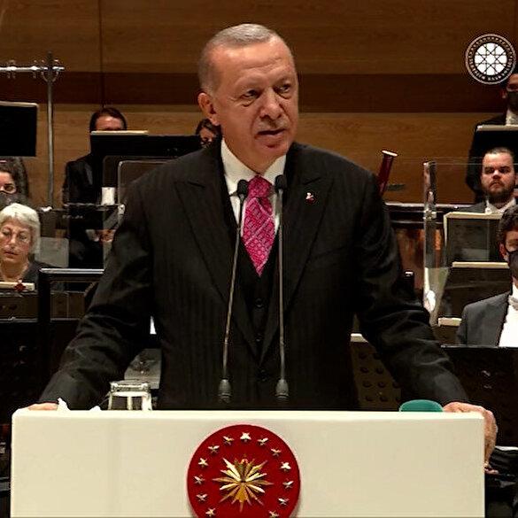 Cumhurbaşkanı Erdoğan: Cumhurbaşkanlığı Senfoni Orkestrası'nı şanına yaraşır bir binaya kavuşturduk