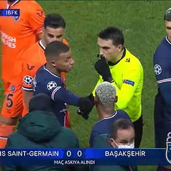 PSG-Başakşehir maçında çirkin ırkçılık