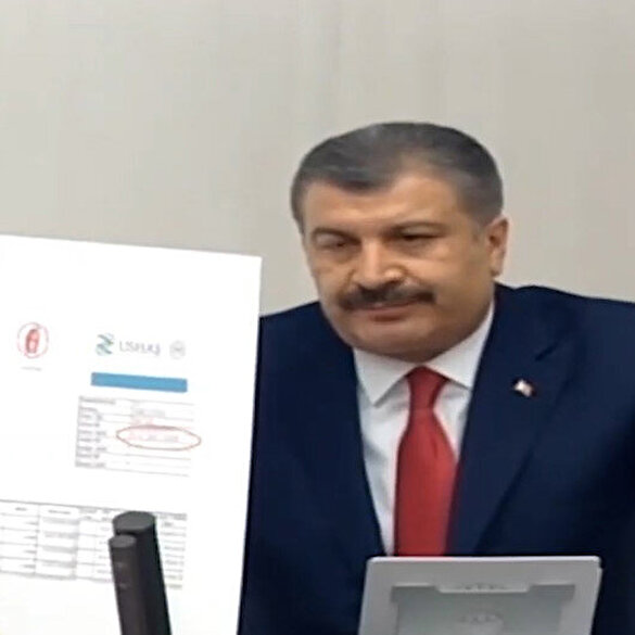 Bakan Koca'dan CHP'li Emir'in test kitleriyle ilgili iddialarına cevap: Gözlerini ve yüzünü görmek istiyorum