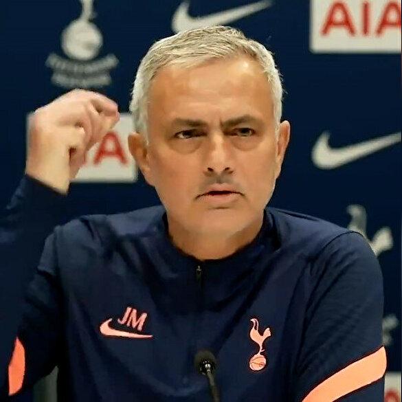 Basın toplantısında Mourinho'ya 'çamaşır makinesi' sürprizi