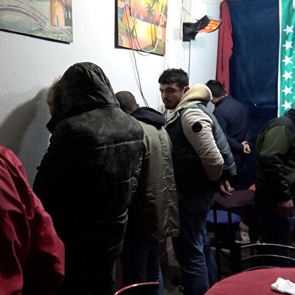 Bursa'da pitbull korumalı kumarhaneye baskın: Kumar oynamıyorduk, çay içmeye geldik