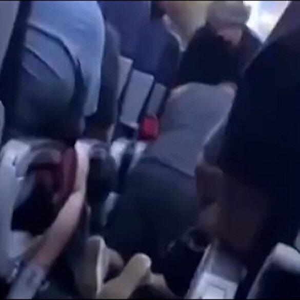 Yolcu uçağında fenalaşan koronavirüs hastası hayatını kaybetti