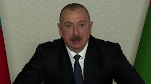 Azerbaycan Cumhurbaşkanı Aliyev'den Ermenistan'a uyarı