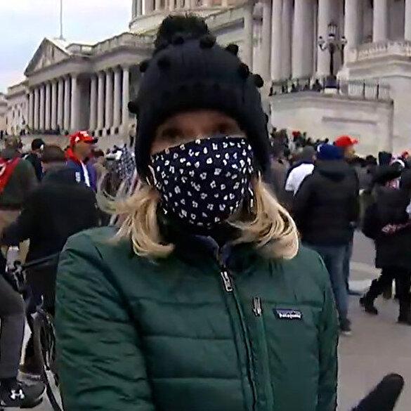 ABC muhabirinden ABD'deki olaylara Ortadoğu yorumu: Şu an Kabil'de değilim, Bağdat'ta değilim Amerika'dayım!