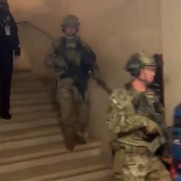 FBI kuvvetleri ABD Kongresi'ne operasyon düzenledi