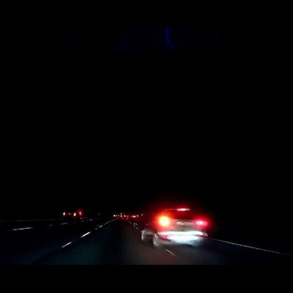 Tesla 'oto pilot' sistemi kazayı önledi