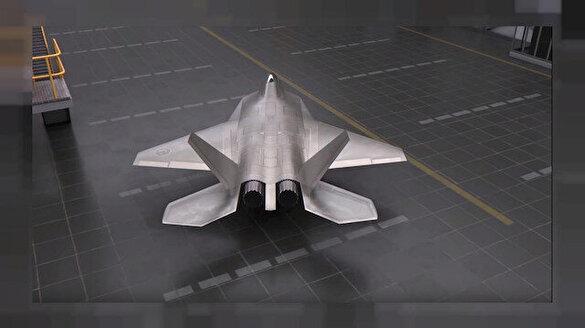 Milli savaş uçağında heyecanlandıran 3D detayı!