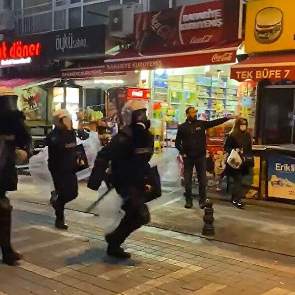 Kadıköy'de polise yardımcı olan 'Bahariye Kuruyemiş' adlı işletmenin sahibi sosyal medyada hedef gösterildi