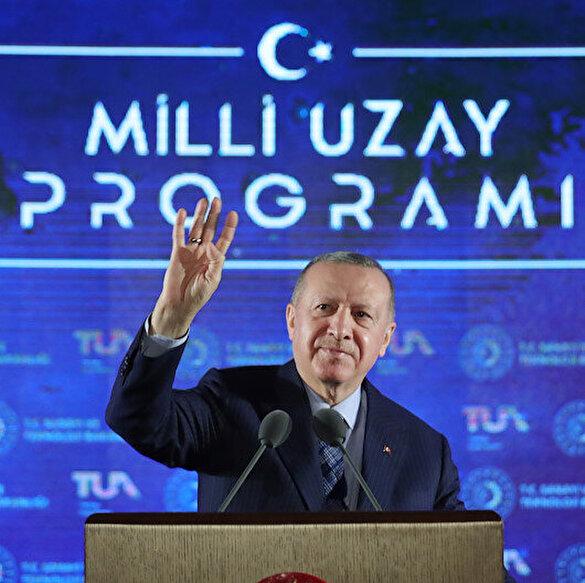Cumhurbaşkanı Erdoğan'dan heyecanlandıran açıklama: Uzaya Türk vatandaşı göndereceğiz