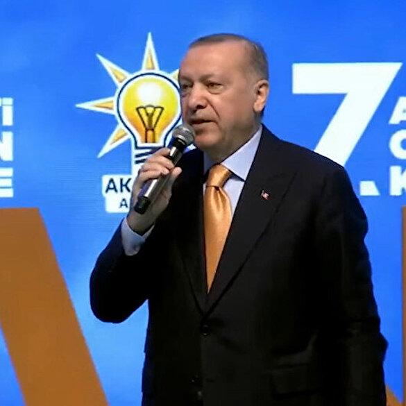Cumhurbaşkanı Erdoğan 'AK Parti'nin hangi hayırlı işine taş koyduk?' diyen Kılıçdaroğlu'na teker teker saydı