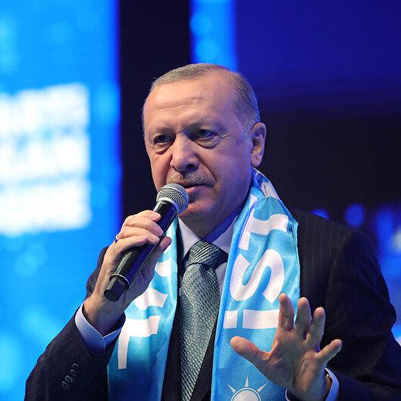 Cumhurbaşkanı Erdoğan: CHP deyince akla çöp, çukur, çamur gelir