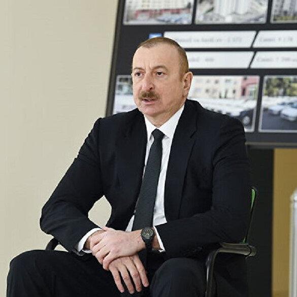 Azerbaycan Cumhurbaşkanı Aliyev'den Ermenistan açıklaması: Onları bu duruma sokan liderleridir