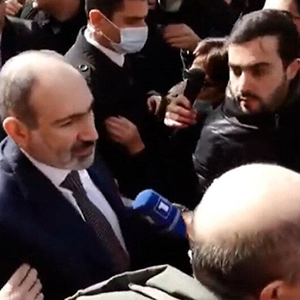 Ermenistan karıştı: Paşinyan destekçileriyle birlikte sokaklarda