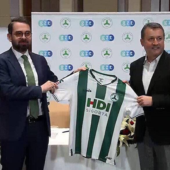 Lider Giresunspor'a yaraşır sponsor: GZT