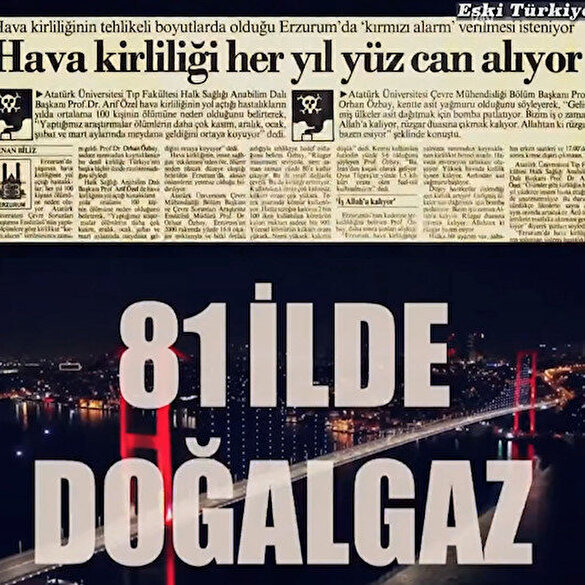 Cumhurbaşkanı Erdoğan Türkiye'nin enerji konusunda kat ettiği mesafeyi görüntülerle anlattı