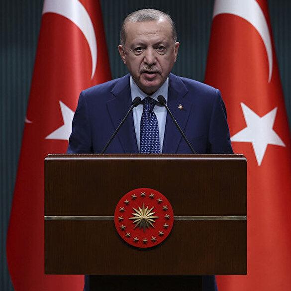 Cumhurbaşkanı Erdoğan siyasi partilere seslendi: Yeni anayasa için her türlü görüşe ve teklife açığız