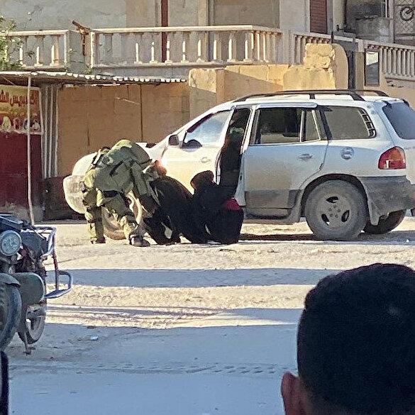 Afrin'de PKK/YPG üyesi iki kadın üzerlerindeki bombalarla yakalandı