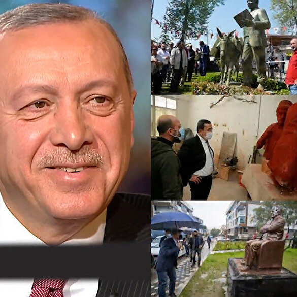 AK Parti'den CHP'ye 'heykel' göndermeli 1 Nisan paylaşımı