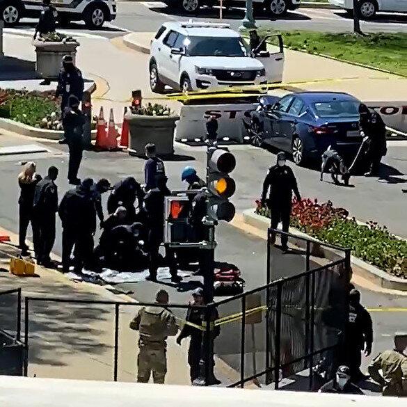 ABD Kongre binasında hareketli dakikalar: Bölgeden silah sesleri yükseldi