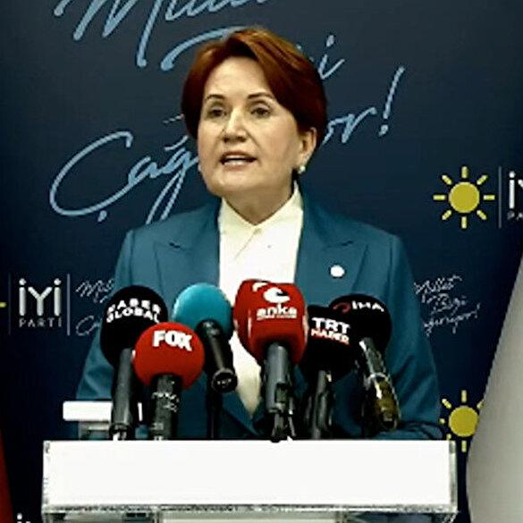 İYİ Parti lideri  Akşener'den 103 amirale tepki: Siyaset yapacaklar ise parti kursunlar bu zevzekliktir