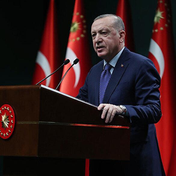 Cumhurbaşkanı Erdoğan'dan muhalefete çağrı: Demokrasiden yana tutum almaya çağırıyorum
