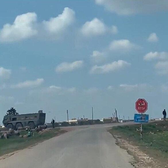 Tel Rıfat'ta terör örgütü PYD'yi koruyan Rus güçleri çekiliyor