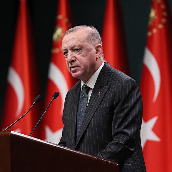 Cumhurbaşkanı Erdoğan: Ramazan'ın ilk iki haftasında kısmi kapanma uygulamasına geçiyoruz