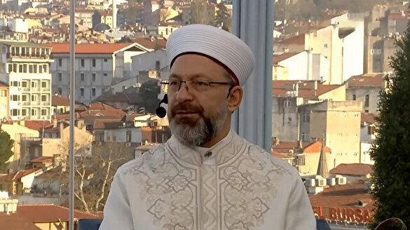 Diyanet İşleri Başkanı Ali Erbaş TVNET ekranlarında: Kur'an-ı Kerim ile daha çok iç içe olalım
