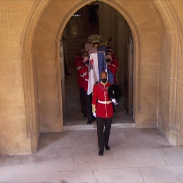 İngiltere, Prens Philip'e veda etti