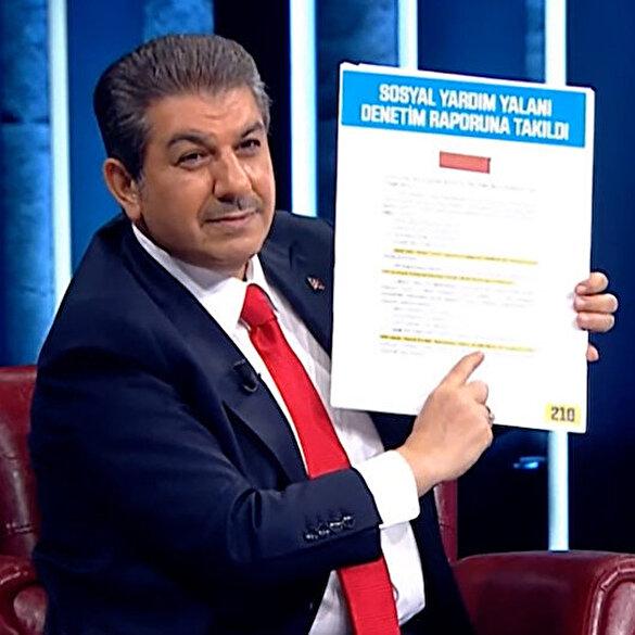 Tevfik Göksu İBB Başkanı İmamoğlu'nun sosyal yardım algısını denetim raporuyla ortaya çıkardı