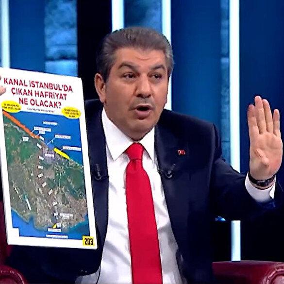 Tevfik Göksu, CHP'nin Kanal İstanbul yalanlarını tek tek ortaya döktü