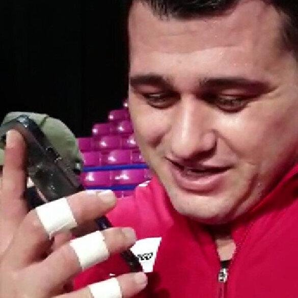 Cumhurbaşkanı Erdoğan'dan şampiyon güreşçi Rıza Kayaalp'e tebrik telefonu