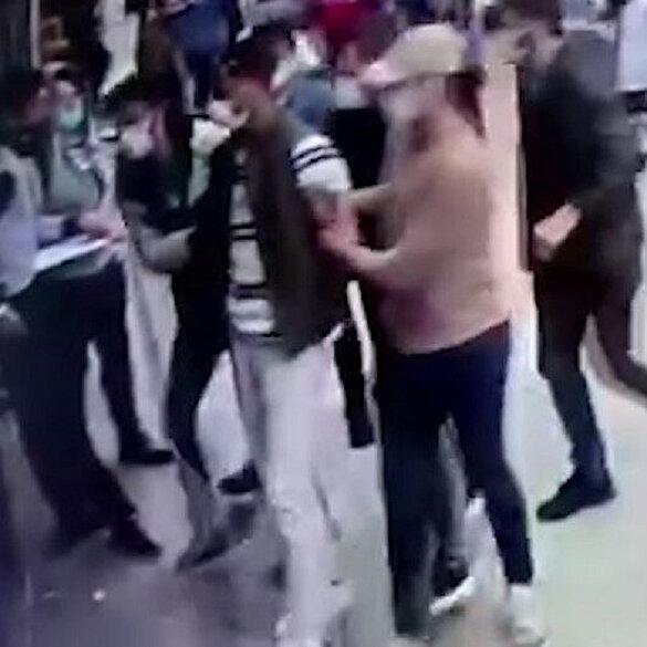 Otogarda patlayıcıyla yakalanan şüphelinin gözaltına alınma anı kamerada