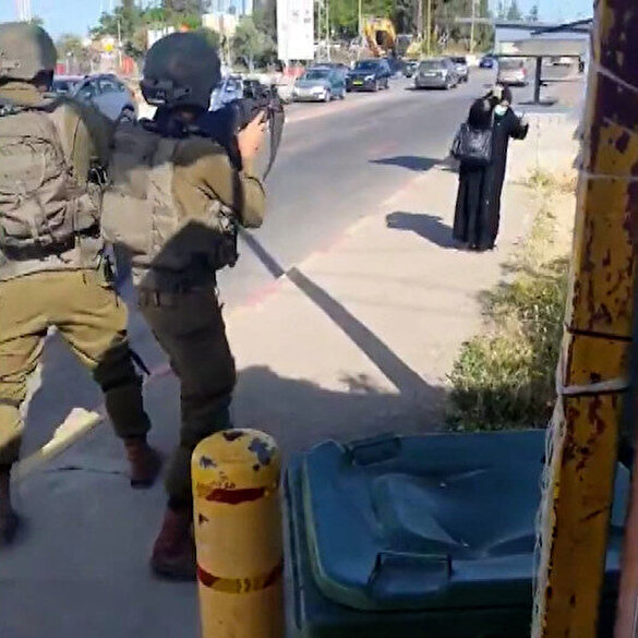 İşgalci İsrail askerleri Filistinli kadını silahla vurarak öldürdü